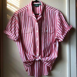 VTG • Candy Stripe Button Up